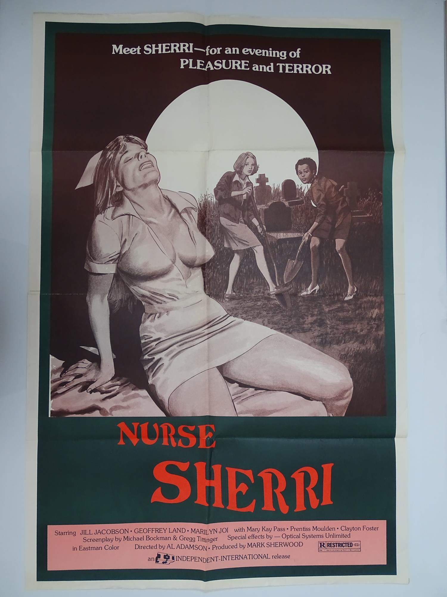 Selection of UK Quad Film Posters: FORBIDDEN DECAMERON; DE L'AMOUR; LINE UP AND LAY DOWN / NURSES ON - Image 9 of 10