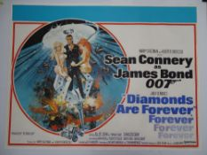 JAMES BOND: DIAMONDS ARE FOREVER (1971) - SEAN CONNERY as 007 (officially for the last time) with