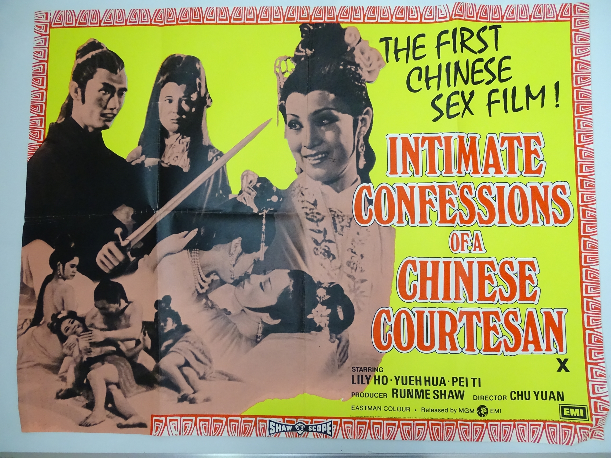 Selection of UK Quad Film Posters: NAUGHTY KNICKERS; FEMALE SEXUALITY; CONFESSIONS OF A MALE ESCORT; - Image 7 of 10