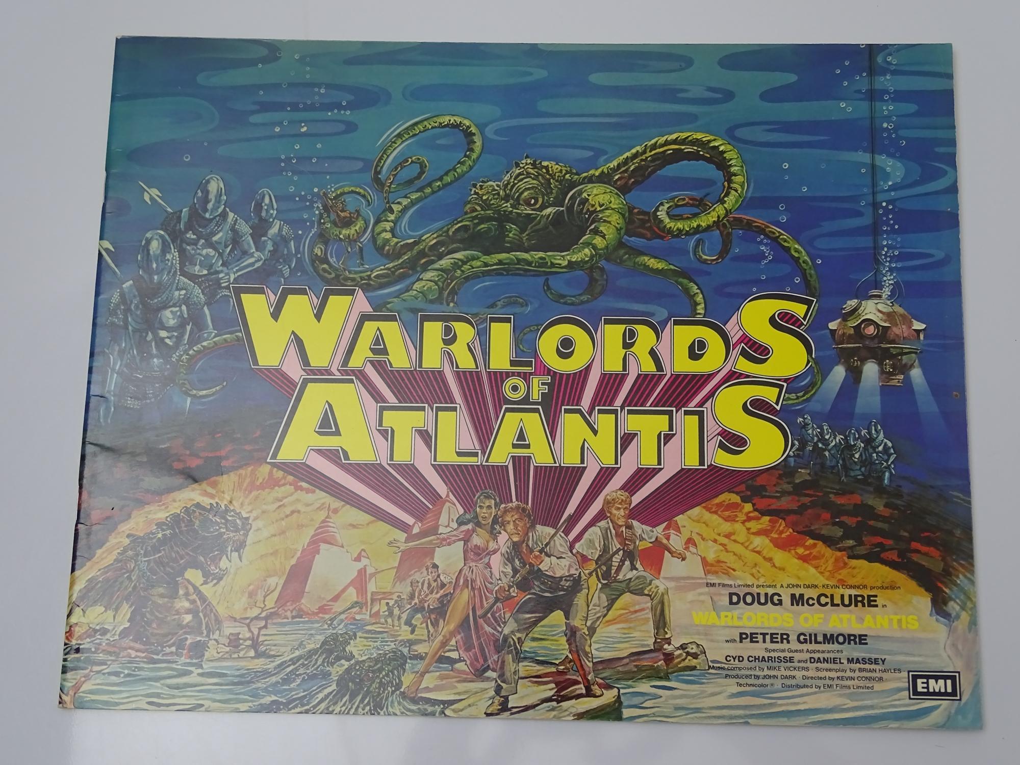 WARLORDS OF ATLANTIS (1978) - PRESSBOOK