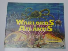 WARLORDS OF ATLANTIS (1978) - PRESSBOOK