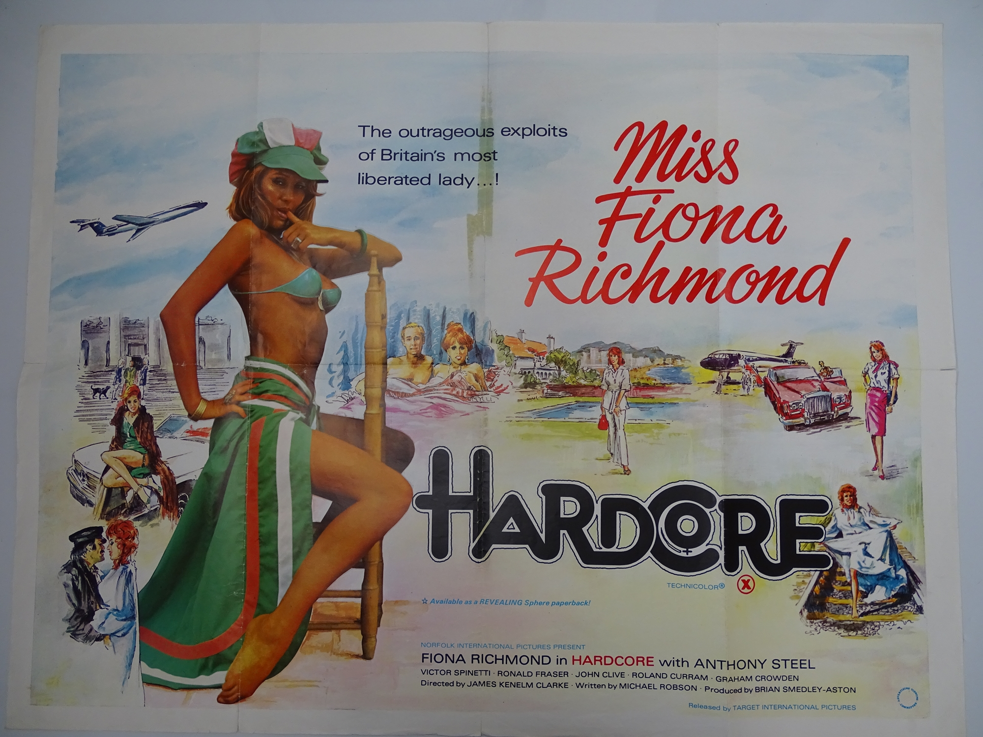 Selection of UK Quad Film Posters: NAUGHTY KNICKERS; FEMALE SEXUALITY; CONFESSIONS OF A MALE ESCORT; - Image 5 of 10