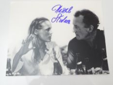AUTOGRAPHS: JAMES BOND: URSULA ANDRESS - Honey Ryder in DR NO - signed photo - has been