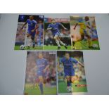AUTOGRAPHS: 1990S/2000S FOOTBALLERS - CHELSEA FOOTBALL CLUB: A selection of 5 autographed