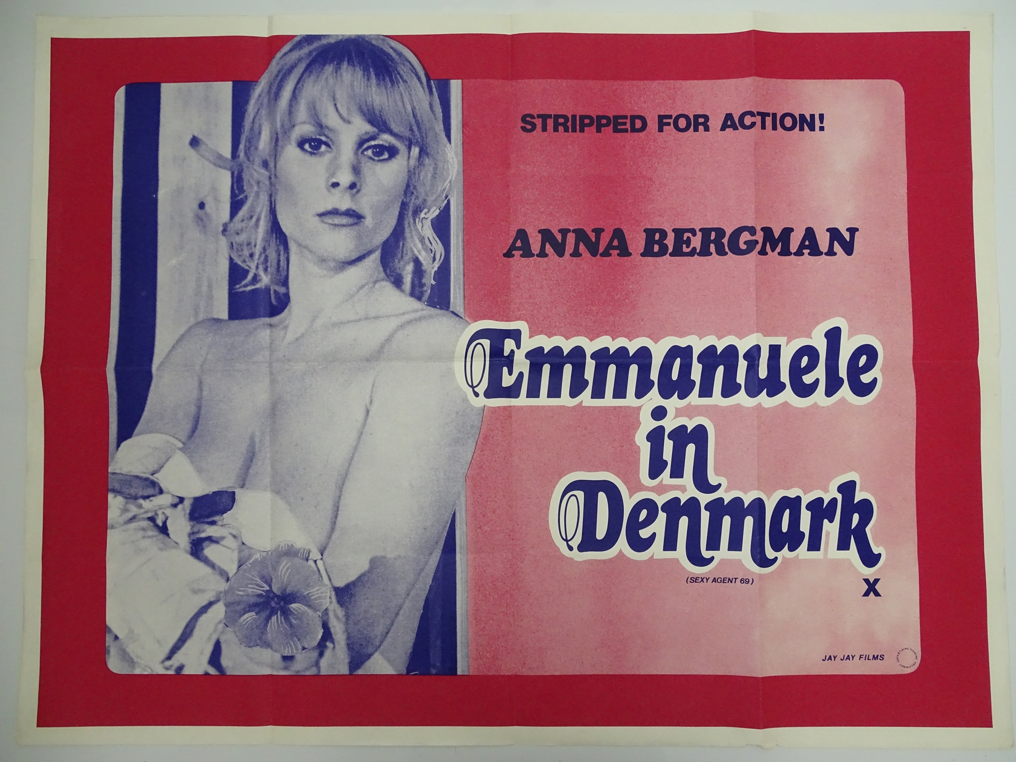 Selection of UK Quad Film Posters: NAUGHTY KNICKERS; FEMALE SEXUALITY; CONFESSIONS OF A MALE ESCORT; - Image 10 of 10