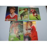 AUTOGRAPHS: 1980S/2000S FOOTBALLERS - LIVERPOOL FOOTBALL CLUB: A selection of 5 autographed pictures