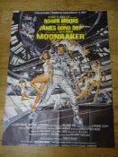 "JAMES BOND: MOONRAKER (1979) - French 'Grande' Affiche movie poster 46"" x 63"" (117 x 160 cm)"