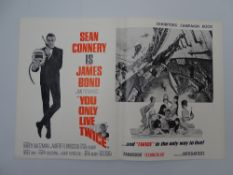 JAMES BOND: YOU ONLY LIVE TWICE (1967) - Press Campaign Book - No Cuts or Missing Pages - complete