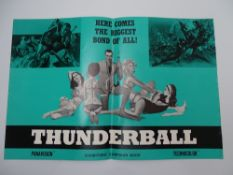 JAMES BOND: THUNDERBALL (1965) - Press Campaign Book - No Cuts or Missing Pages