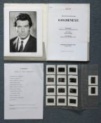 JAMES BOND: GOLDENEYE (1996) - Pre Production Press Kit/Brochure Pack which includes 14 x colour