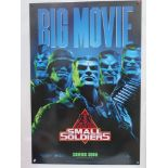 ONE SHEET LOT (4 in Lot) - To include SMALL SOLDIERS (1998) + PRINCE OF EGYPT (1998) + AUSTIN