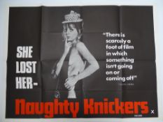Selection of UK Quad Film Posters: NAUGHTY KNICKERS; FEMALE SEXUALITY; CONFESSIONS OF A MALE ESCORT;
