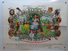 "ALICE'S ADVENTURES IN WONDERLAND (1972) British UK Quad Film Poster - 30"" x 40"" (76 x 101.5 cm) ("