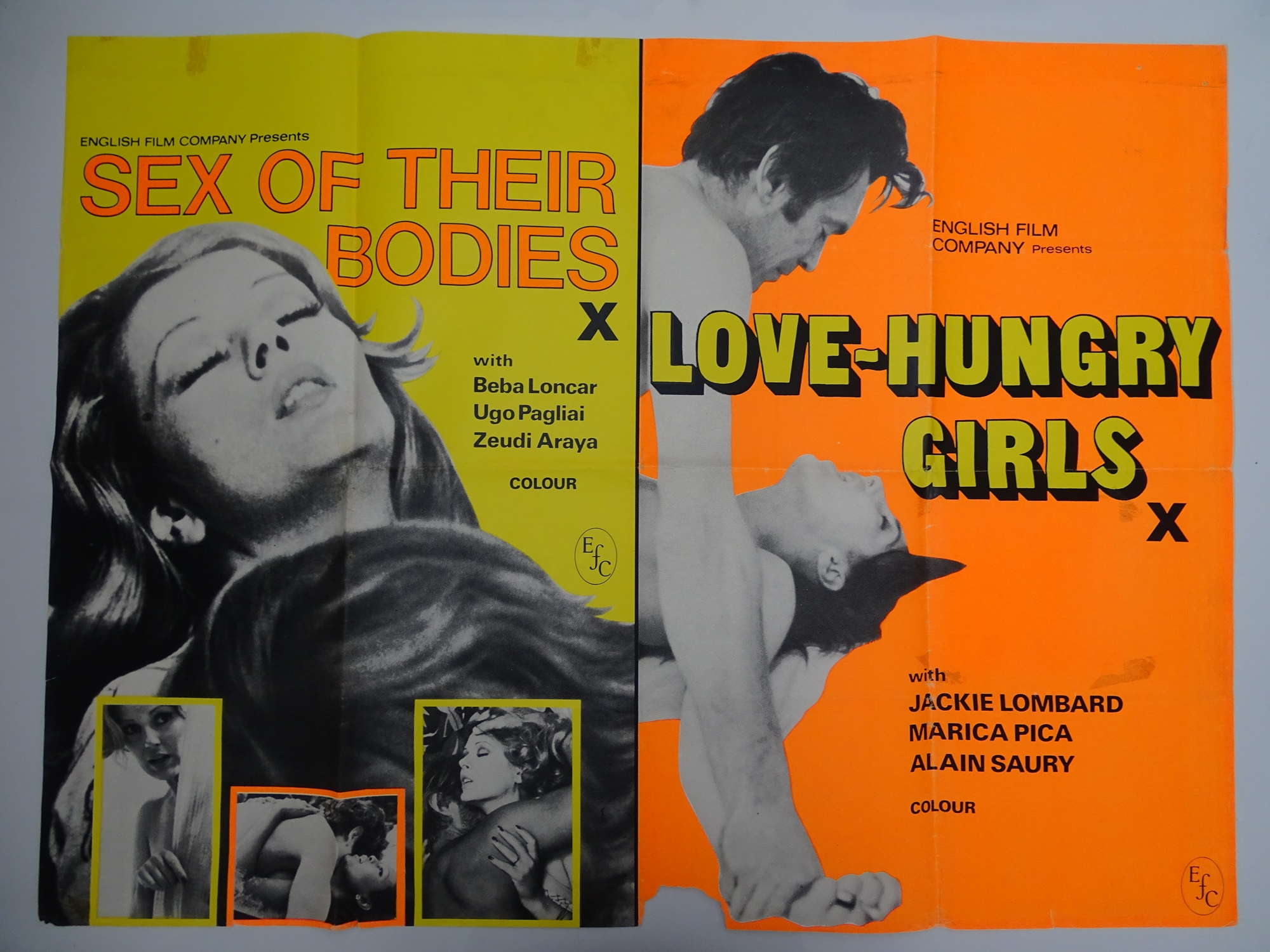 Selection of UK Quad Film Posters: DON'T GET YOUR KNICKERS IN A TWIST / MOST GIRLS WILL; GOODBYE - Image 6 of 9