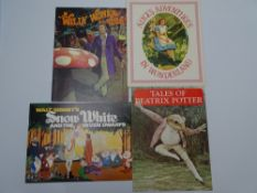 A SELECTION OF Vintage Movie Souvenir Program Books for a variety of FAMILY films: ALICE'S