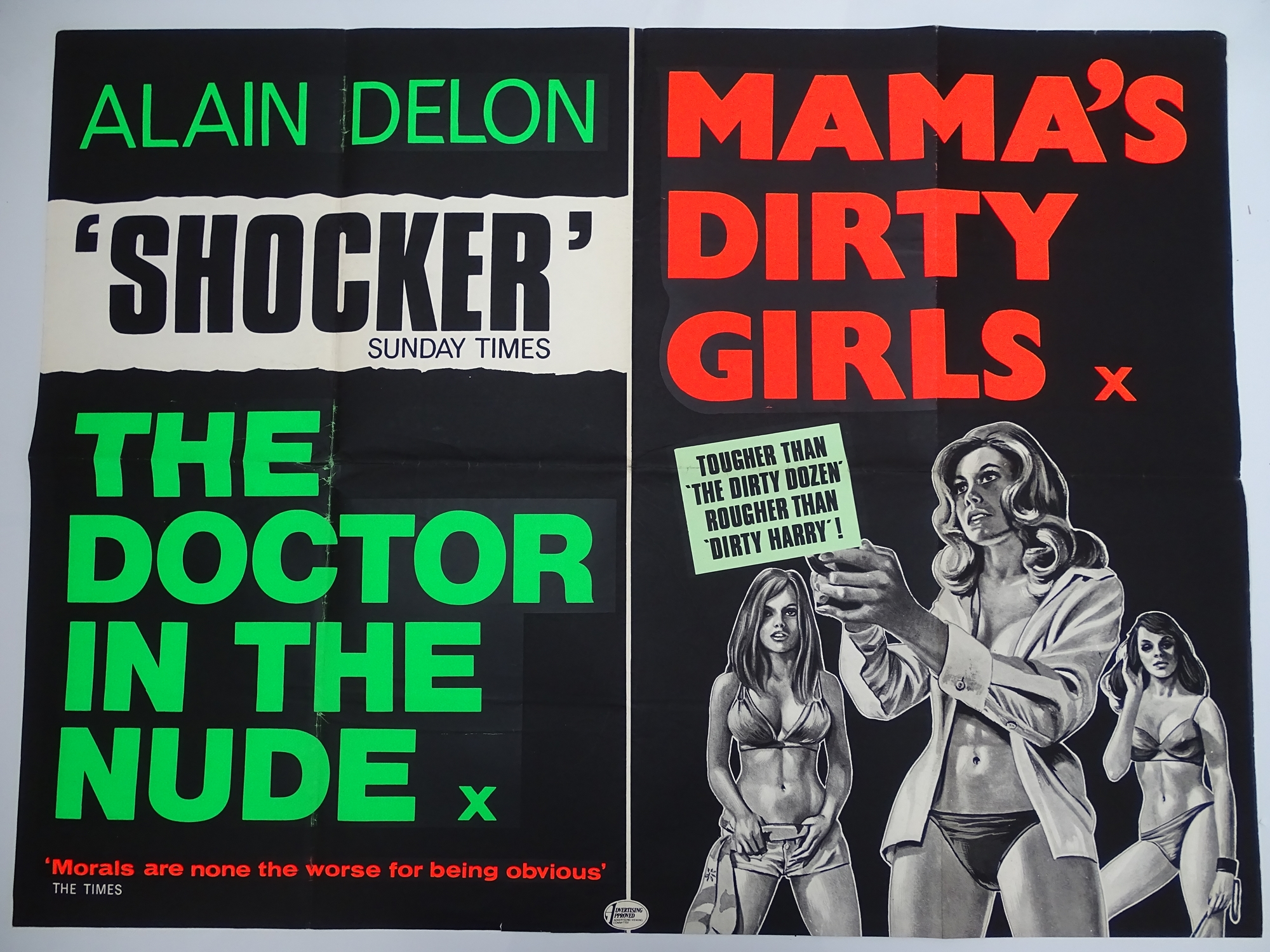 Selection of UK Quad Film Posters: DON'T GET YOUR KNICKERS IN A TWIST / MOST GIRLS WILL; GOODBYE - Image 7 of 9