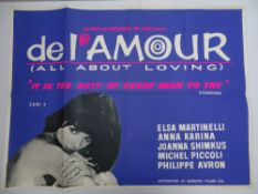 Selection of UK Quad Film Posters: FORBIDDEN DECAMERON; DE L'AMOUR; LINE UP AND LAY DOWN / NURSES ON