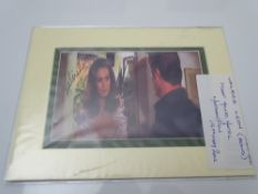 AUTOGRAPHS: VALERIE LEON - JAMES BOND - signed photograph - this has been independently