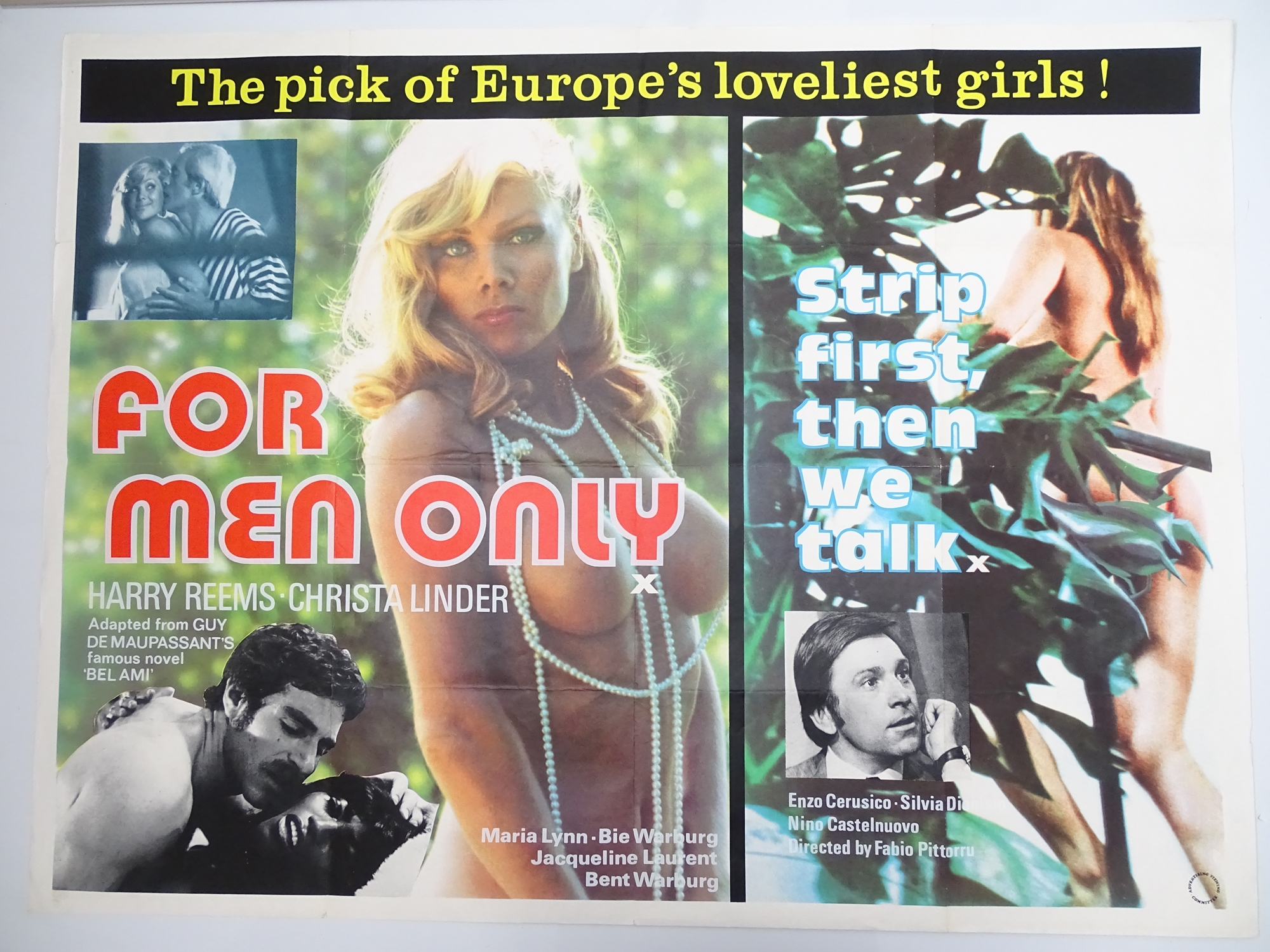 Selection of UK Quad Film Posters: NAUGHTY KNICKERS / PLAY THE GAME OR LEAVE THE BED; CHARLOTTE: THE - Image 6 of 10