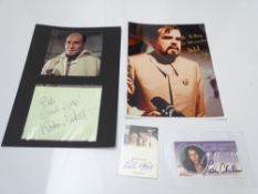 AUTOGRAPHS: JAMES BOND: MOONRAKER: A group of autographs - mainly signed photographs to include: