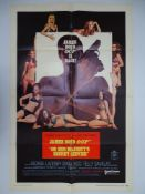 JAMES BOND: ON HER MAJESTY'S SECRET SERVICE (1970) - US One Sheet Movie Poster - Folded