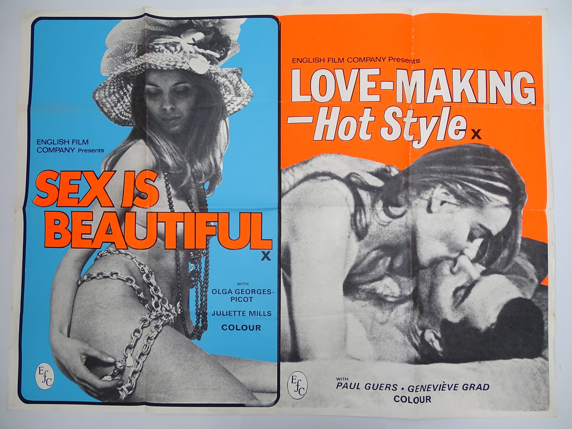 Selection of UK Quad Film Posters: NAUGHTY KNICKERS; FEMALE SEXUALITY; CONFESSIONS OF A MALE ESCORT; - Image 9 of 10