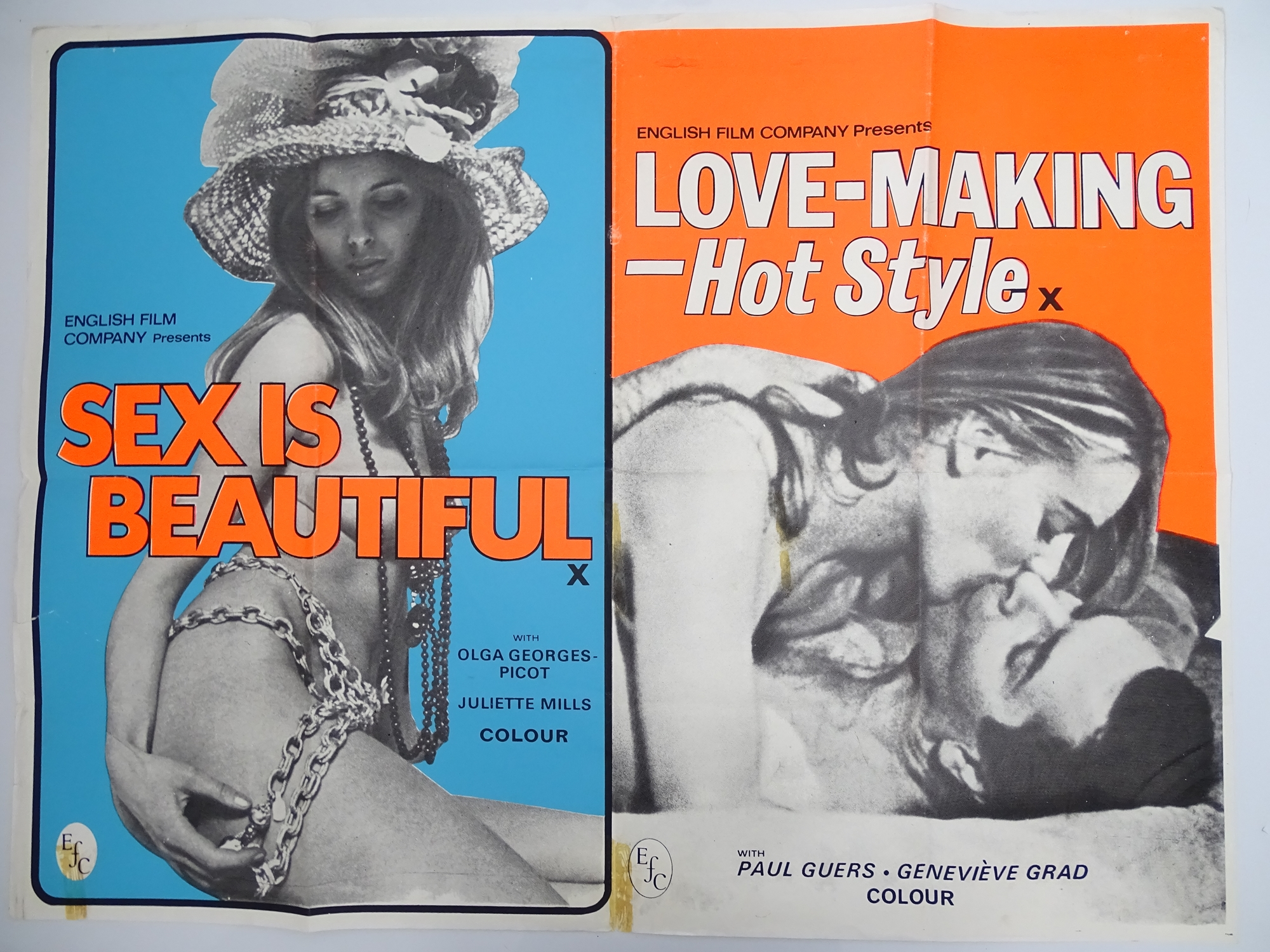 Selection of UK Quad Film Posters: NAUGHTY KNICKERS / PLAY THE GAME OR LEAVE THE BED; CHARLOTTE: THE - Image 9 of 10