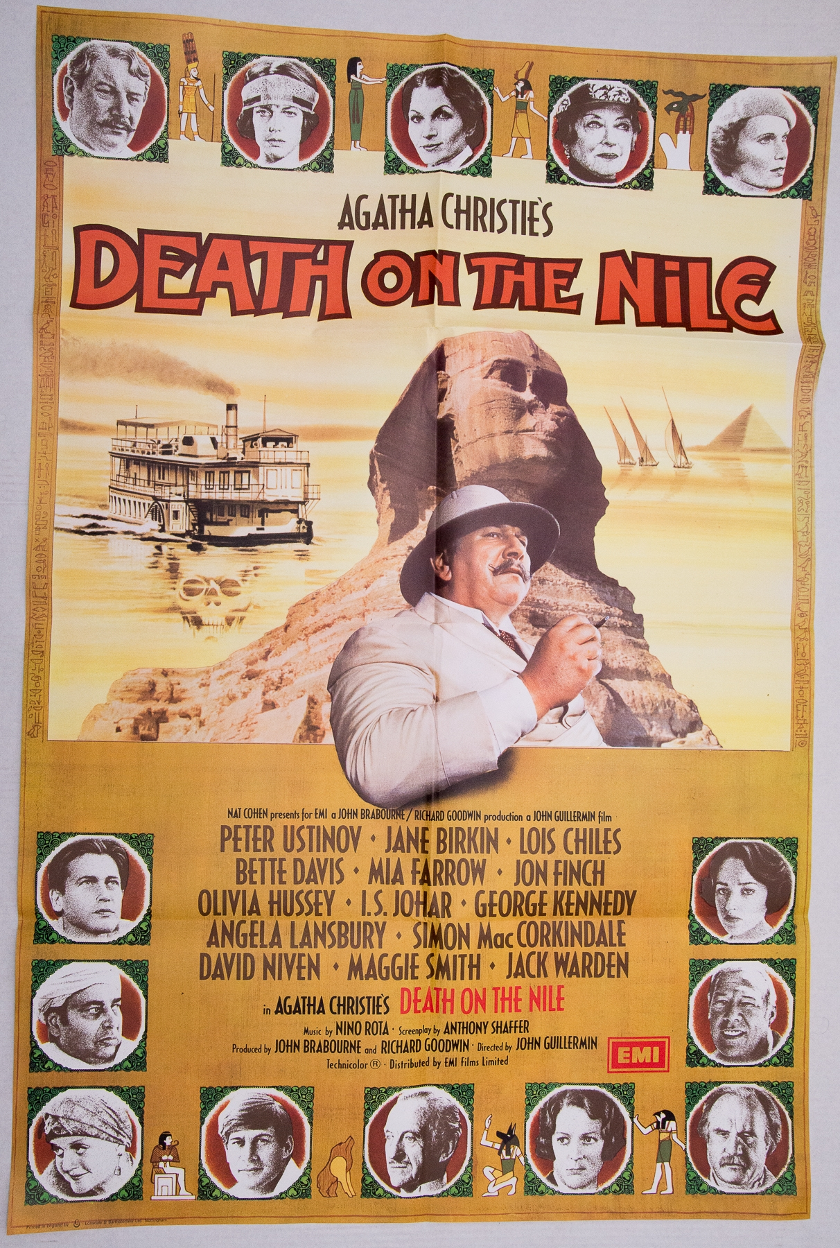 Group of mixed 1970s/80s UK Quad / One Sheet Film Posters to include: CAT AND MOUSE (1974); DEATH ON - Image 3 of 5