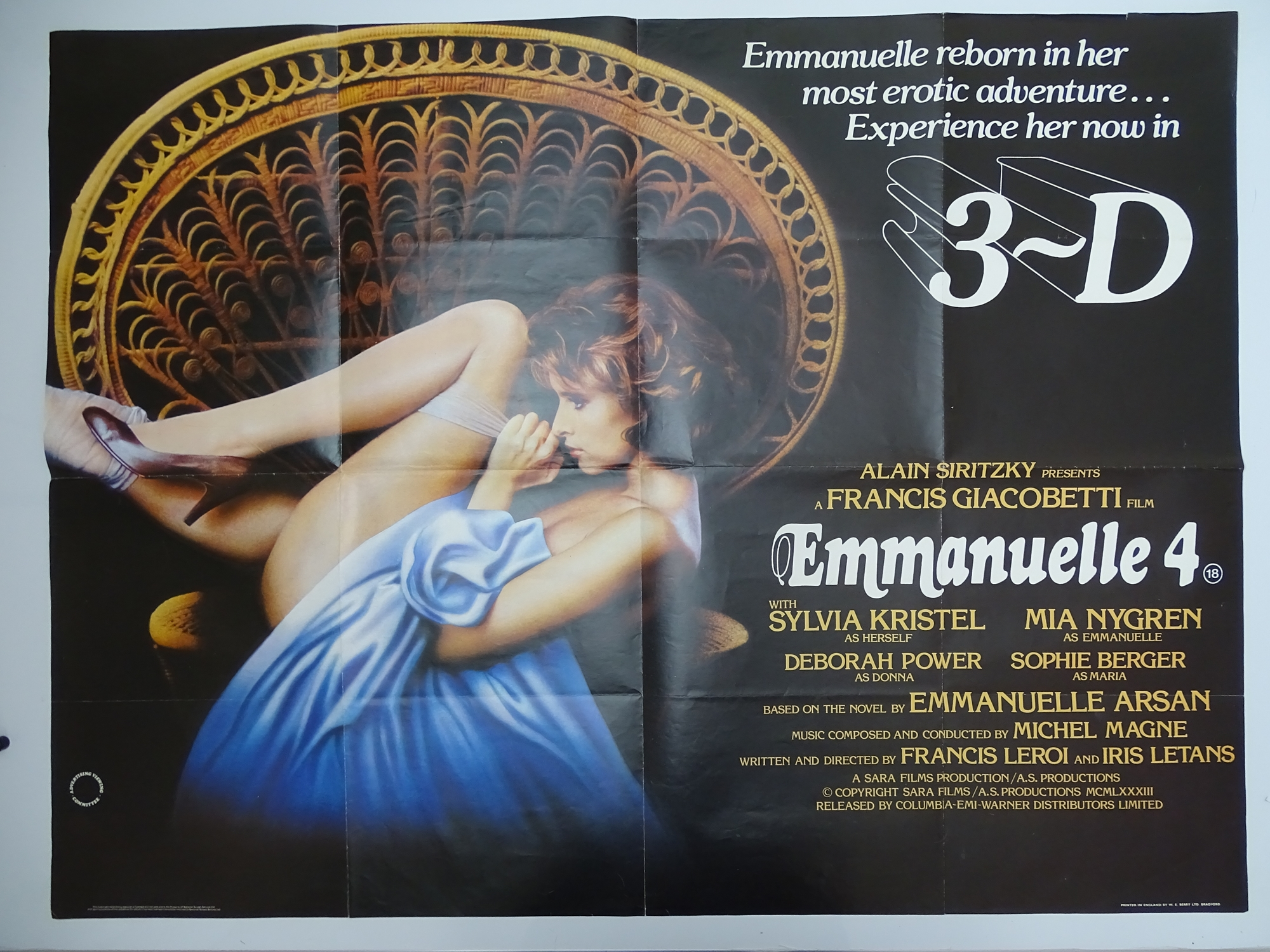 Selection of UK Quad Film Posters: NAUGHTY KNICKERS / PLAY THE GAME OR LEAVE THE BED; CHARLOTTE: THE - Image 10 of 10