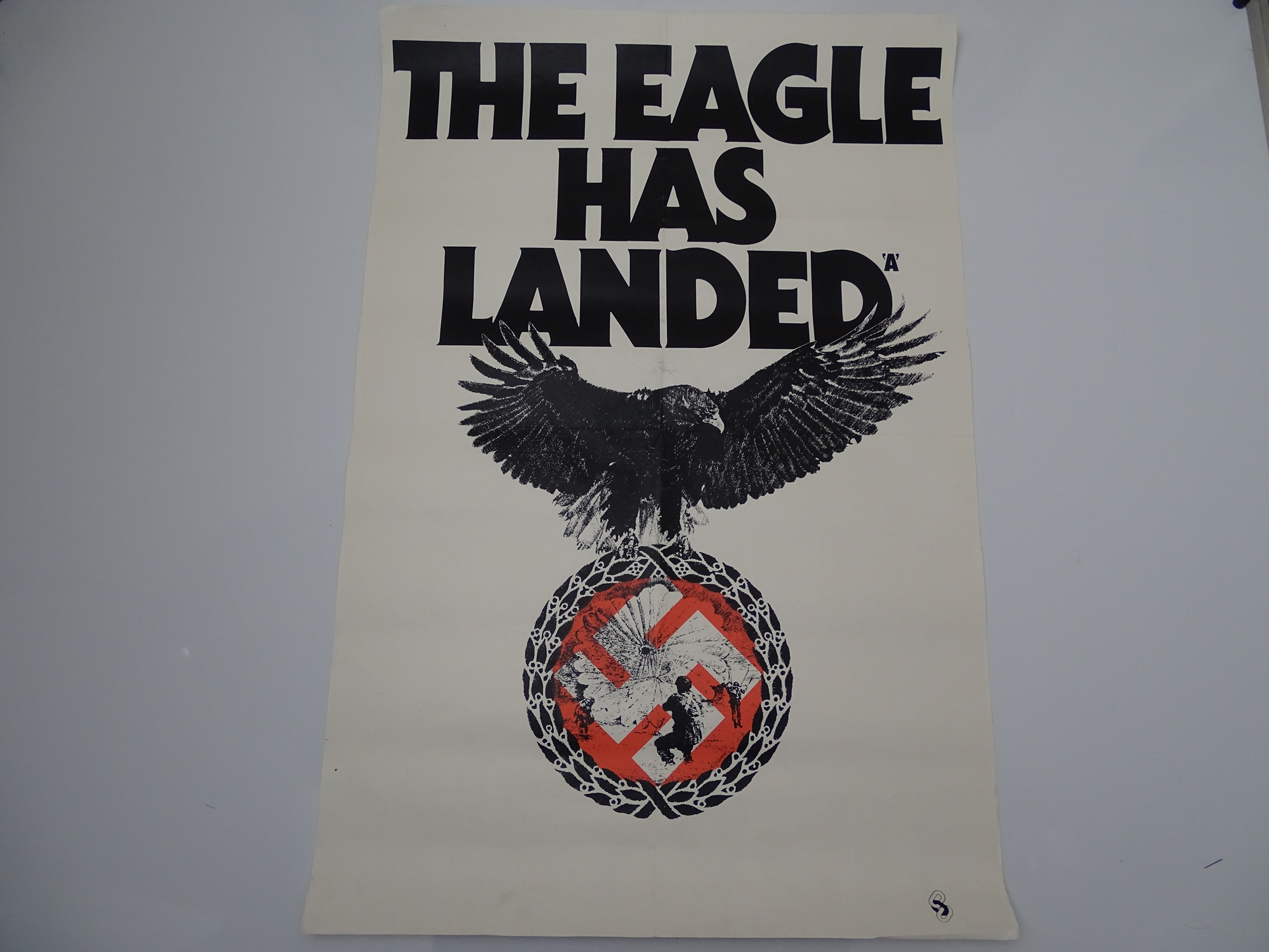 """THE EAGLE HAS LANDED (1976) - Double Crown 30"""" (51 x 76 cm) - Folded (as issued)"""