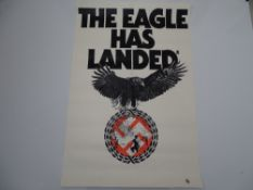 "THE EAGLE HAS LANDED (1976) - Double Crown 30"" (51 x 76 cm) - Folded (as issued)"