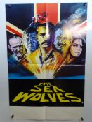 "THE SEA WOLVES (1980) - British Double Crown - Arnaldo Putzu artwork - 20"" x 30"" (51 x 76 cm) -"