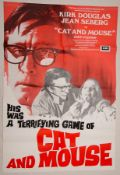 Group of mixed 1970s/80s UK Quad / One Sheet Film Posters to include: CAT AND MOUSE (1974); DEATH ON