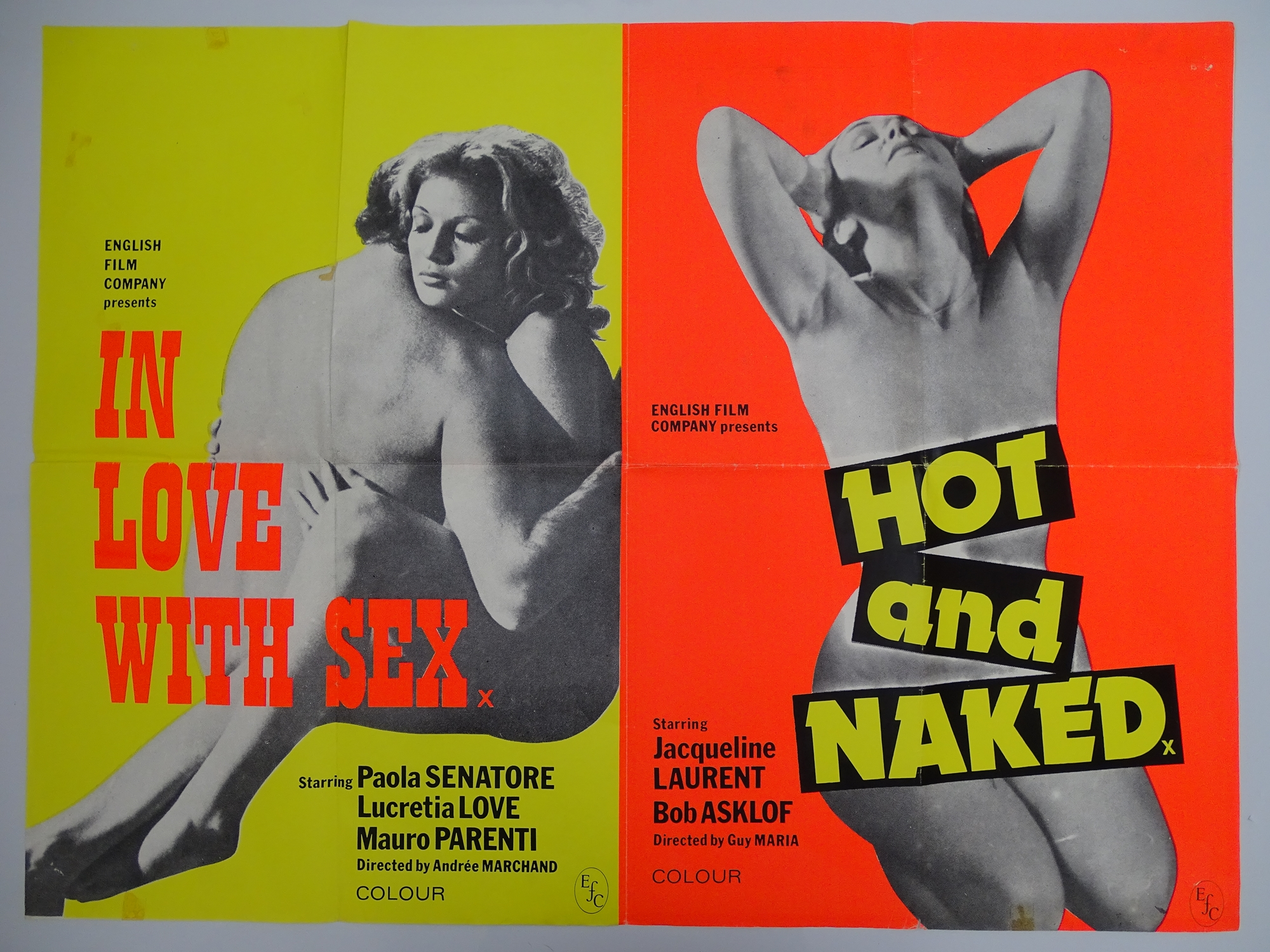 Selection of UK Quad Film Posters: NAUGHTY KNICKERS; FEMALE SEXUALITY; CONFESSIONS OF A MALE ESCORT; - Image 6 of 10