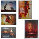 MODERN MOVIE POSTERS Lot x 5 To include 2 x UK Quad Film Posters: PRISCILLA QUEEN OF THE DESERT (