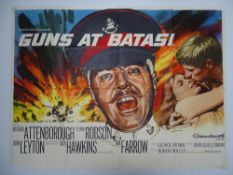 "GUNS AT BATASI (1964)- UK Quad Film Poster - - 30"" x 40"" (76 x 101.5 cm)"