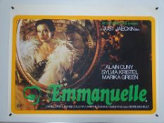 EMMANUELLE (1974) UK Quad Film Poster - Rolled