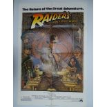 INDIANA JONES AND THE RAIDERS OF THE LOST ARK (1981) - 1982 re-release - Classic STEVEN SPIELBERG