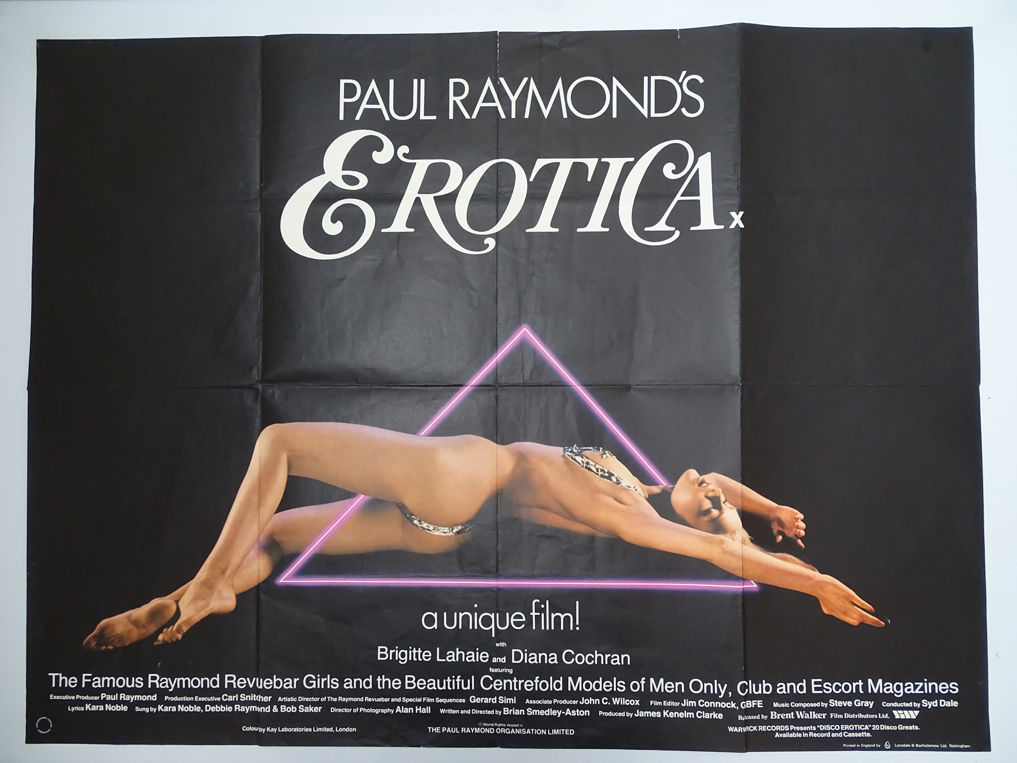 Selection of UK Quad Film Posters: FORBIDDEN DECAMERON; DE L'AMOUR; LINE UP AND LAY DOWN / NURSES ON - Image 5 of 10