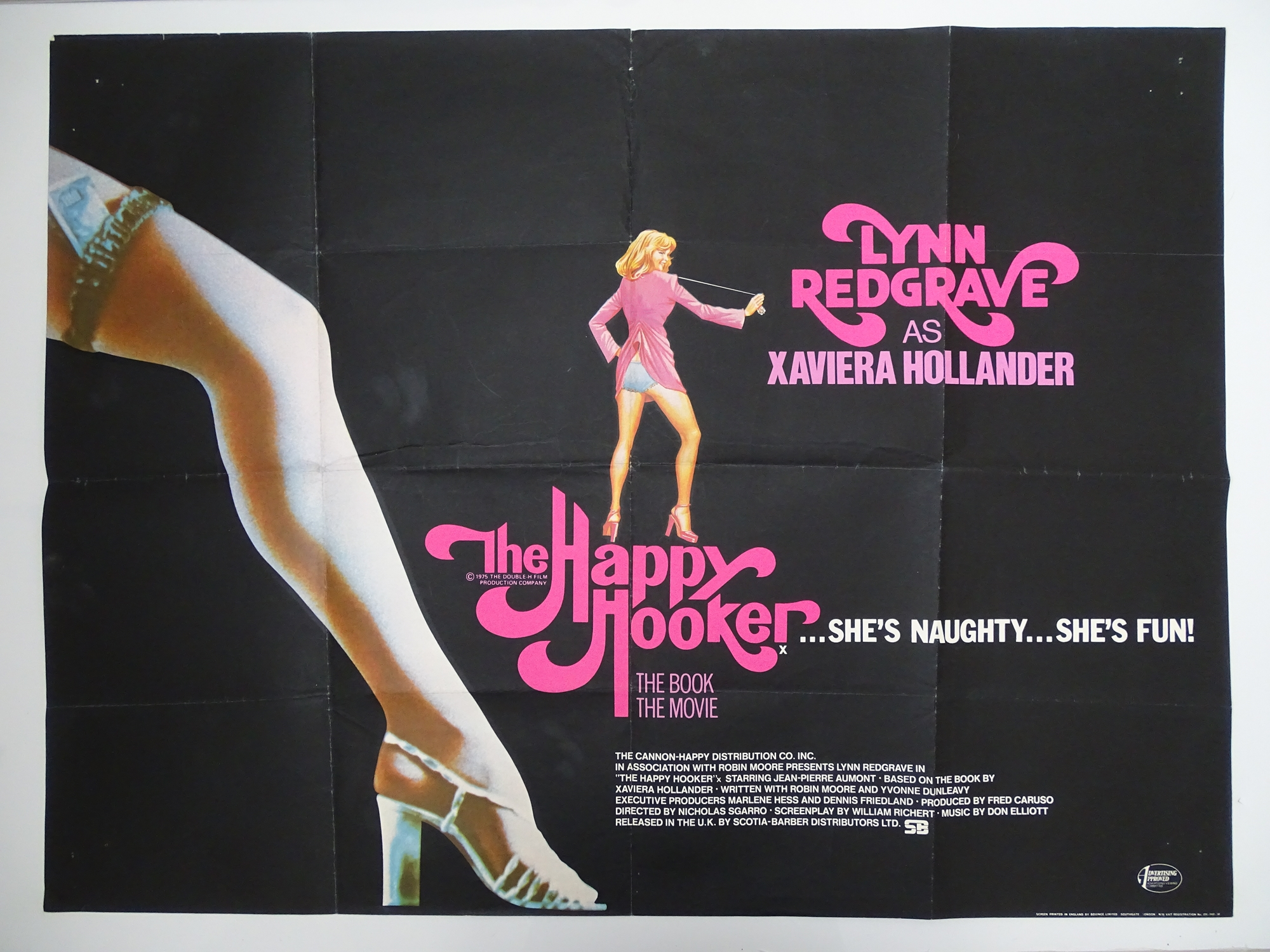 Selection of UK Quad Film Posters: NAUGHTY KNICKERS / PLAY THE GAME OR LEAVE THE BED; CHARLOTTE: THE - Image 5 of 10