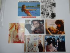 JAMES BOND: AUTOGRAPHS: SEAN CONNERY 'girls' - MARGARET NOLAN; EUNICE GAYSON; HONOR BLACKMAN (x2);