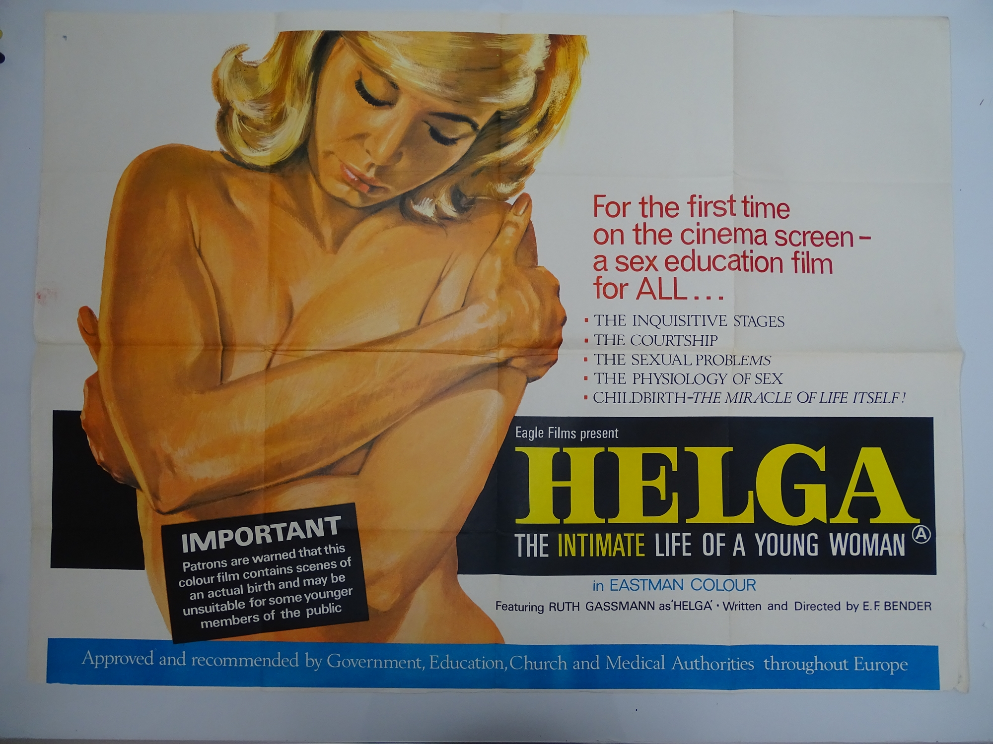 Selection of UK Quad Film Posters: DON'T GET YOUR KNICKERS IN A TWIST / MOST GIRLS WILL; GOODBYE - Image 5 of 9