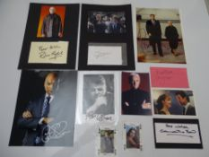 AUTOGRAPHS: JAMES BOND: TOMORROW NEVER DIES, THE WORLD IS NOT ENOUGH and DIE ANOTHER DAY: A group of