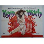 VIRGIN WITCH (1972)- Sybil has lured Christine to the castle for more than modelling: she is