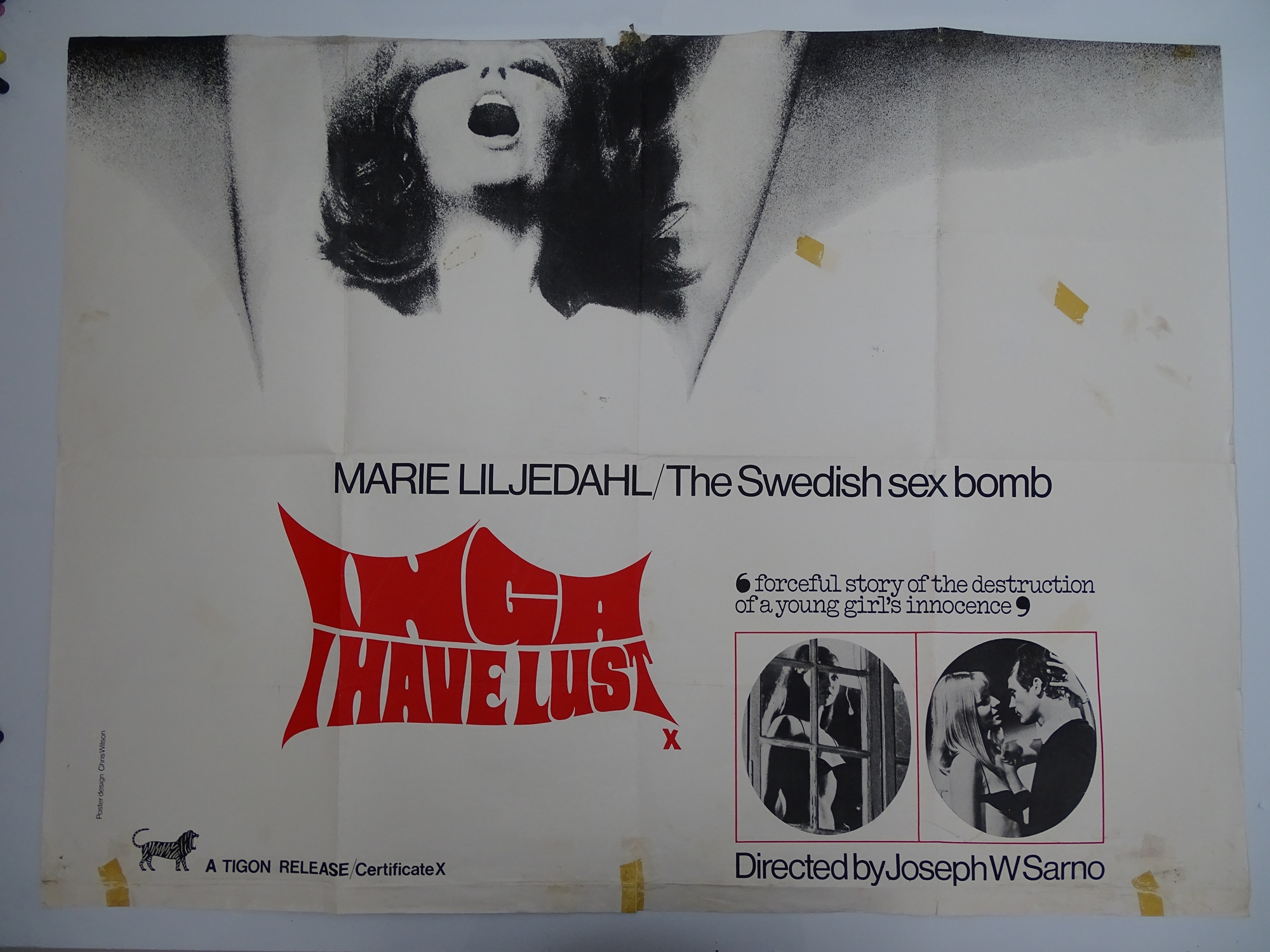 Selection of UK Quad Film Posters: NAUGHTY KNICKERS; FEMALE SEXUALITY; CONFESSIONS OF A MALE ESCORT; - Image 4 of 10