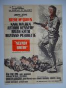 NEVADA SMITH (1966) - (STEVE MCQUEEN) French Moyenne Film Poster