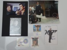 AUTOGRAPHS: JAMES BOND: GOLDENEYE: A group of autographs - mainly signed photographs to include: