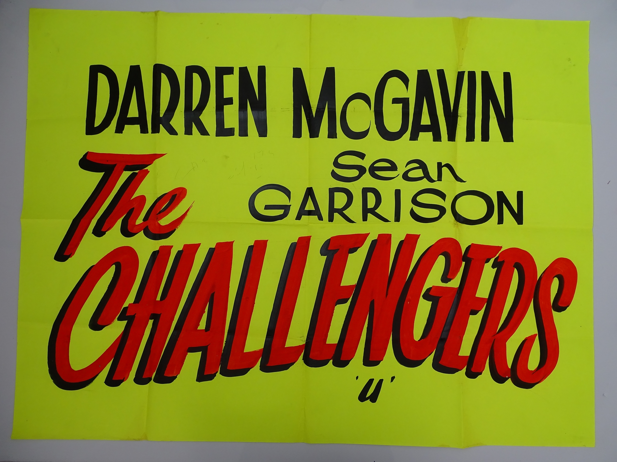 A selection of hand written - British UK Quad film posters - an important part of film history - - Image 9 of 9