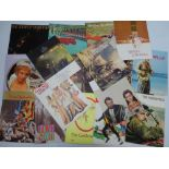 A SELECTION OF Vintage Movie Souvenir Program Books for a variety of DRAMA / BIOGRAPHICAL /