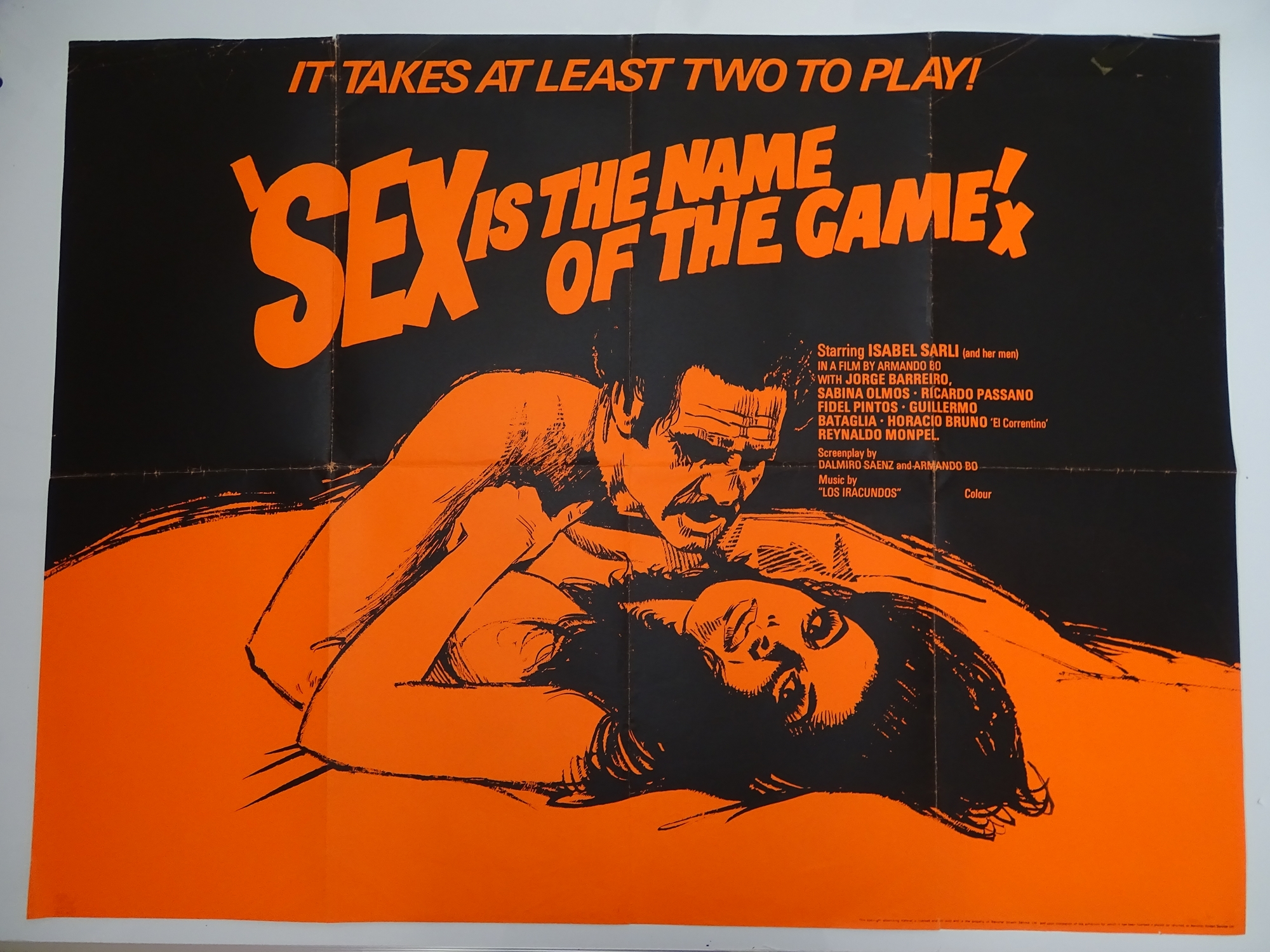 Selection of UK Quad Film Posters: GYMSLIP LOVERS / TEENAGE HITCH HIKERS; NAUGHTY NURSES / SEX - Image 7 of 10